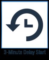 3 min delay start